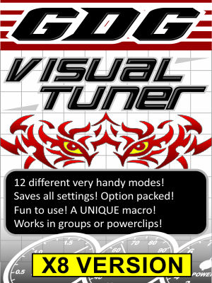 GDG Visual Tuner for X8