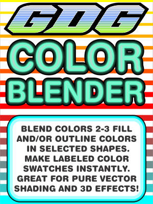 GDG Color Blender Plus Free Bonus Macro: GDG Randomize-A-Tron for X5 and  X4