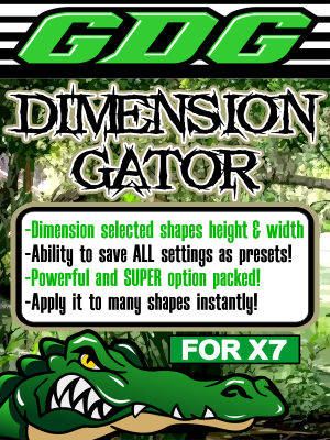 GDG Dimension Gator for X7