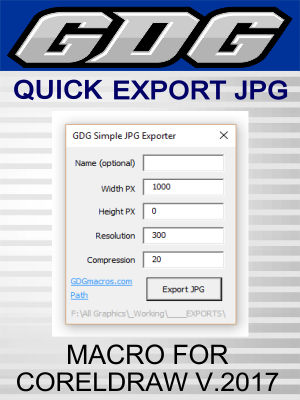 GDG Simple JPG Exporter for v.2017