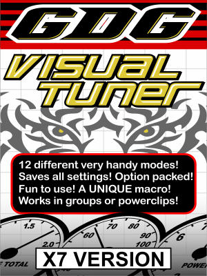 GDG Visual Tuner for X7