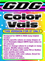 GDG Color Vals for X7