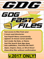 GDG Fast Files for v.2017