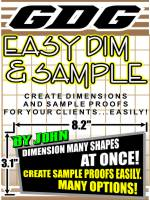 GDG Easy Dim & Sample for X4 and X5
