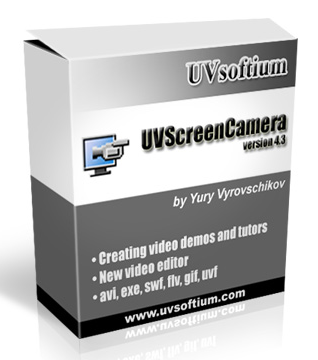 Screen Recording Software UVScreenCamera