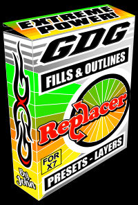 FIND AND REPLACE MACRO CORELDRAW